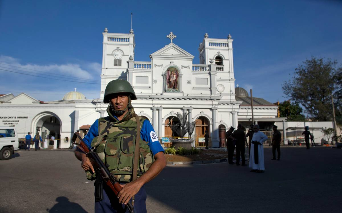 Easter Sunday bomb blasts in Sri Lanka